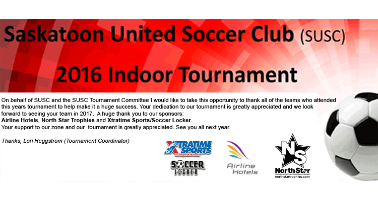 2016 SUSC Indoor Tournament